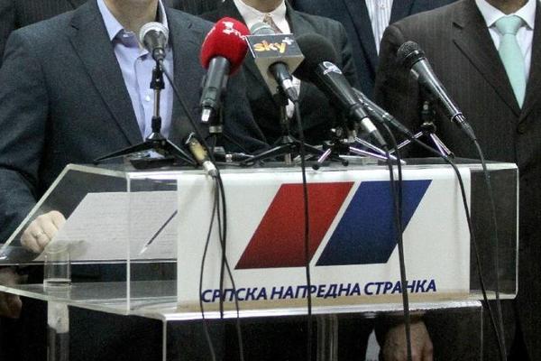 Napadnute prostorije Srpske napredne stranke u Vrbasu