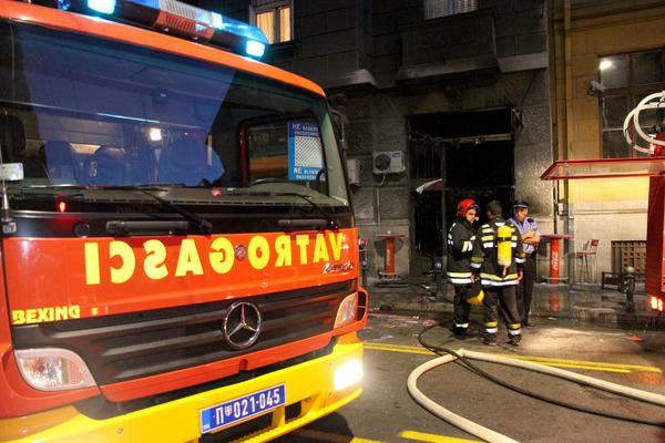 Požar u centru Beograda, jedna osoba povređena!
