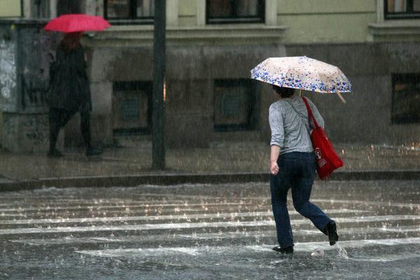 TEMPERATURA IDE U MINUS! A kiša će da baš da nas muči
