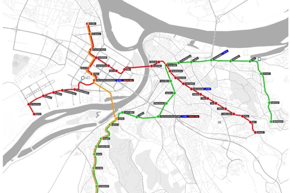Predstavljen Projekat Bg Metroa Kako Ce Izgledati Prva Linija I