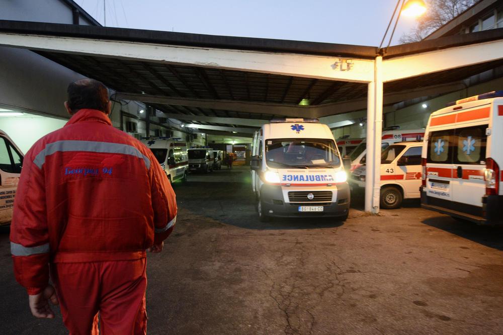 MIRNA NOĆ U BEOGRADU: Troje lakše povređeno u dve saobraćajke!