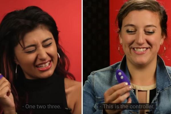 Prvi put su isprobale gaćice s vibratorom! Reakcije su bile hmmm... (VIDEO)
