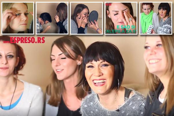 SAD ĆU TE NABODEM part 4: Beograđanke se šminkale prvi put! I umalo se potukle zbog trepavica od 200 dinara! (VIDEO)