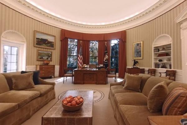 ZAKERBERG VAM NUDI: Zavirite u Belu kuću sa 360 videom! Ovo MORATE da vidite! (VIDEO)