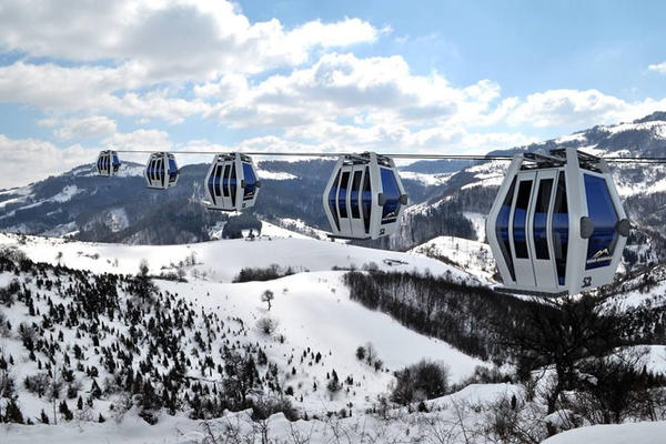 IZGLEDA SVEMIRSKI, A U SRBIJI JE: Ovako izgledaju kabine za gondolu na Zlatiboru! (FOTO)
