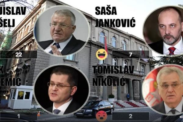 KO IDE U DRUGI KRUG IZBORA SA VUČIĆEM? Nikolić, Jeremić, Šešelj ili Janković? (VIDEO)