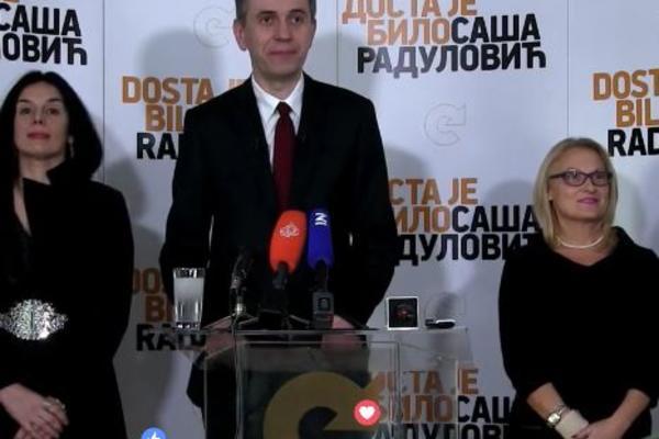 RADULOVIĆ: Da bismo pobedili, opozicija treba da se ujedini! Ako se Jeremić i Janković ne dogovore, DJB će imati svog kandidata!