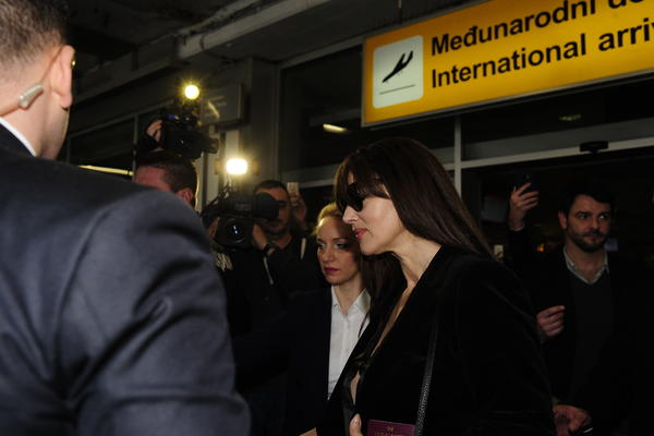 MONIKA BELUČI U BEOGRADU! Najlepša žena sveta stigla u srpsku prestonicu! (FOTO)(VIDEO)