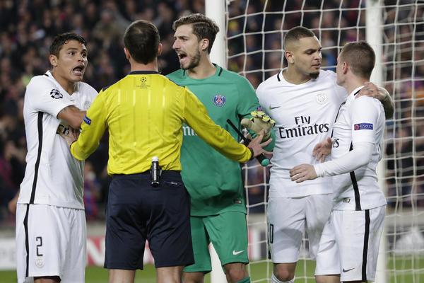 OPAAAAAA! UEFA nezadovoljna suđenjem na utakmici Barselone i PSŽ-a!