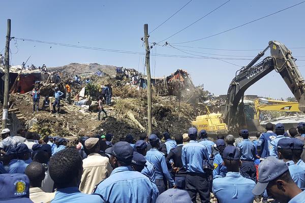 TRAGEDIJA U ETIOPIJI U klizištu poginulo najmanje 46 osoba, desetine nestalih (FOTO)