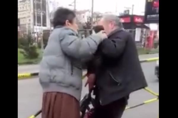 UBI GA K'O VOLA! Žena prebila muža nasred Slavije! (VIDEO)