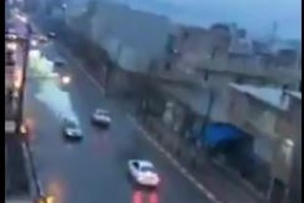 NEVEROVATAN SNIMAK: Munja pogađa vozača automobila usred vožnje! (VIDEO)