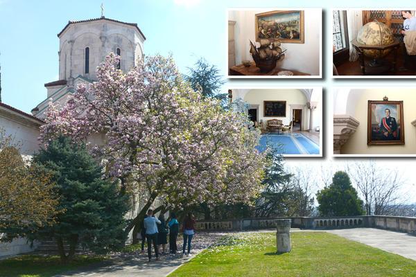 Na zidu Rembrant, a tu je i Tito gledao filmove! Ušli smo u kraljevski dvor na Dedinju, DOM KARAĐORĐEVIĆA! (FOTO)