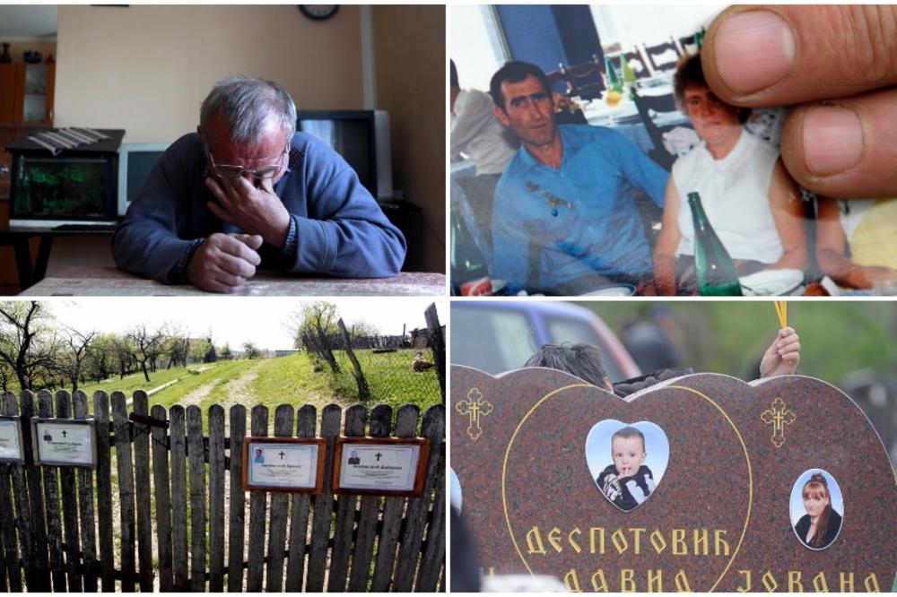 NE SMEM NI DA SE UBIJEM: Četiri godine od najvećeg masakra u Srbiji a ovako danas žive u selu zavijenom U CRNO! (FOTO)