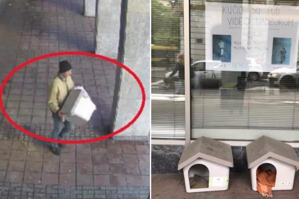 Sećate se tipa koji je usred bela dana ukrao kućicu za pse? Ova poruka je ŠAMAR ZA NJEGA! (FOTO)