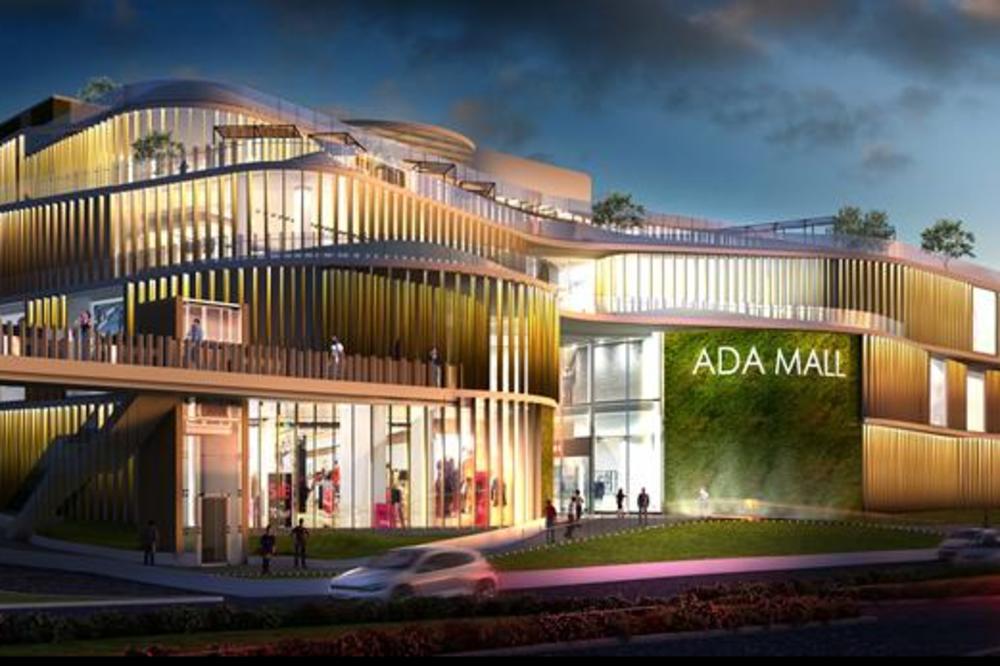 Na Adi Ciganliji niče novi, spektakularni tržni centar (FOTO)