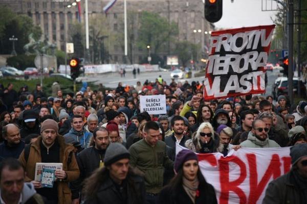 OVAJ DEO GRADA ĆE VEČERAS BITI ZATVOREN: Protestna šetnja večeras do Rektorata UB
