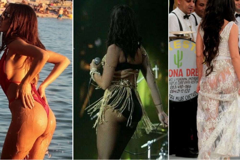 NE ZNA SE KOJA JE SOČNIJA!  Ovo je 5 najboljih zadnjica na srpskoj estradi! (FOTO)