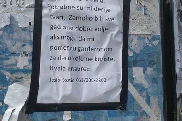 IMAM ČETVORO DECE, DOBIJAM SAMO POMOĆ OD 2.000 DINARA: Pozvali smo oca čiji je vapaj dirnuo Srbiju! (FOTO)