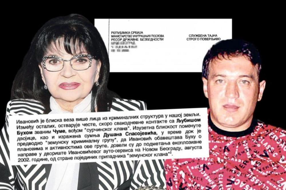 ŠOK SAZNANJE! Zemunski klan hteo BOMBOM da usmrti pevačicu i njenog muža, a OVO je razlog!