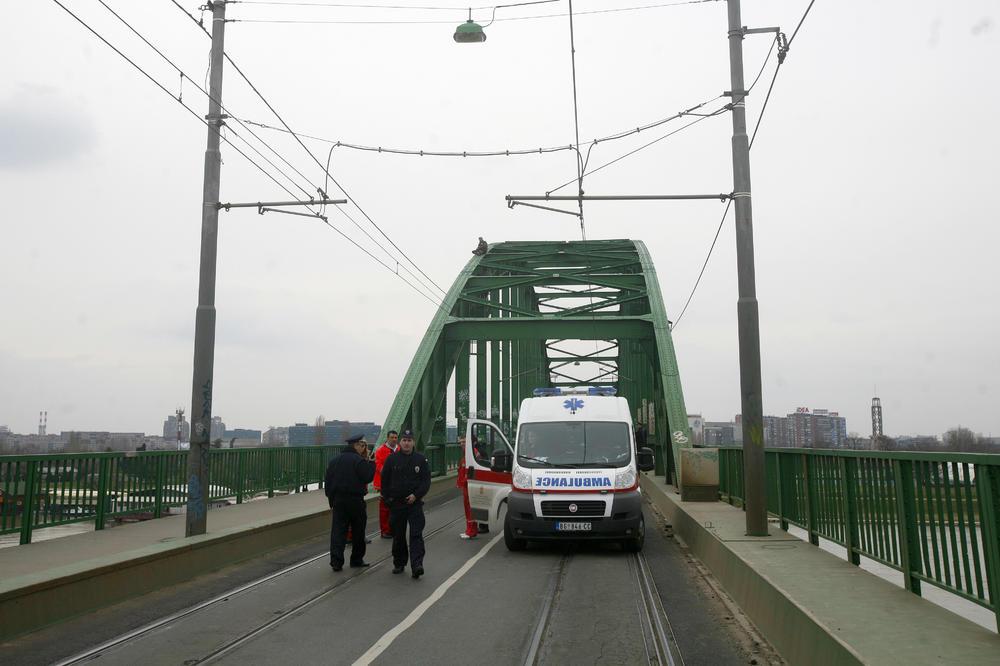 STRAŠNO Muškarac umro kod tramvajskog mosta!