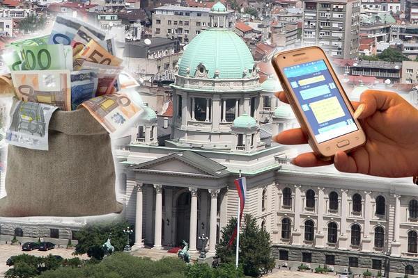 DECU LEČIMO SMS-OVIMA, A DRŽAVU PLJAČKA KO KAKO STIGNE! Srbijo, stidiš li se bar malo? (FOTO)