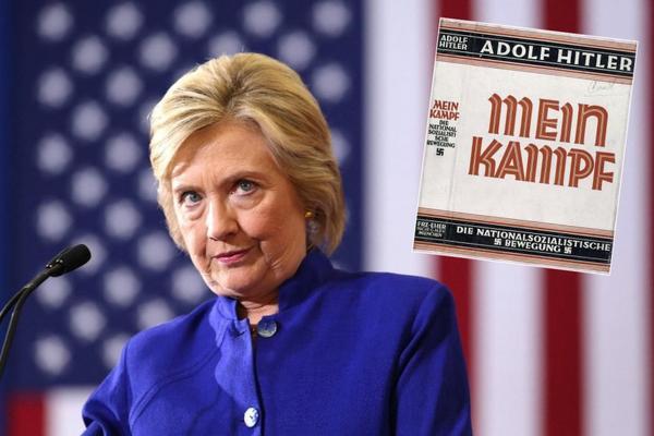 GREŠKA NA VIKIPEDIJI! Biografija Hilari Klinton povezana sa Hitlerovim Majn Kampfom!