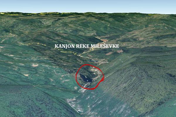 TRAGEDIJA KOD PRIJEPOLJA: Mladić pao sa 50 metara u kanjon reke Mileševke i poginuo!