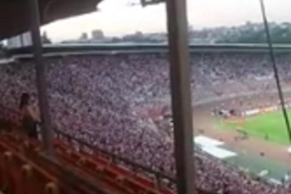 Ore se patriotske pesme uz koreografiju za ponos svakog Srbina! Orkanski vetar u leđa za Orlove pred duel sa Velsom! (VIDEO)