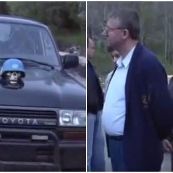 VUČIĆ I ŠEŠELJ u džipu na koji je ZAKAČENA LOBANJA: Šta bi rekli gosti na inauguraciji da vide ovaj snimak? (VIDEO)
