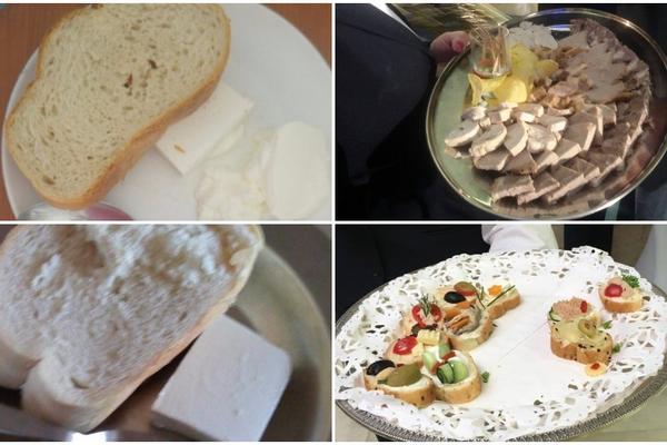 PRONAĐITE RAZLIKU: Hrana koju su služili na INAUGURACIJI i hrana koju daju DECI U BOLNICAMA (FOTO)