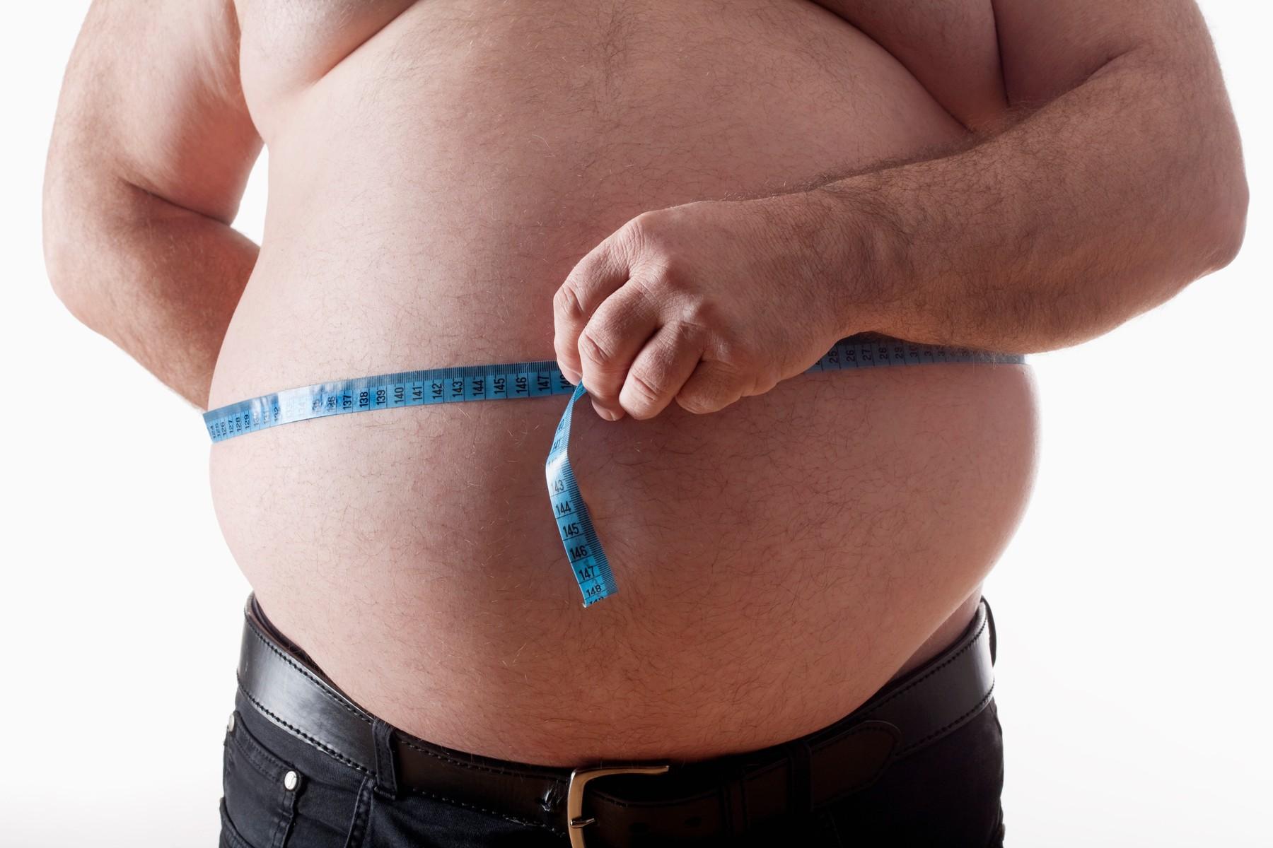 Visceral Fat Men 18