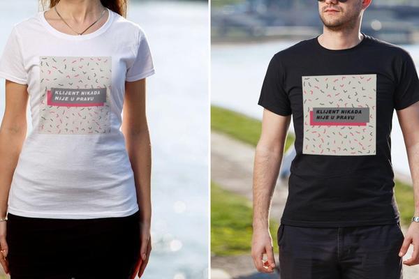 PRIJATELJI, BRAĆO, KUMOVI: Idealne majice za sve drage ljude u vašem okruženju!