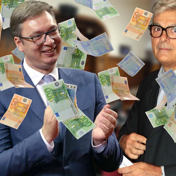PODRŠKA VUČIĆU SE DEBELO ISPLATI! Agencije Nebojše Krstića za tri godine prihodovale 451.710.000 dinara!