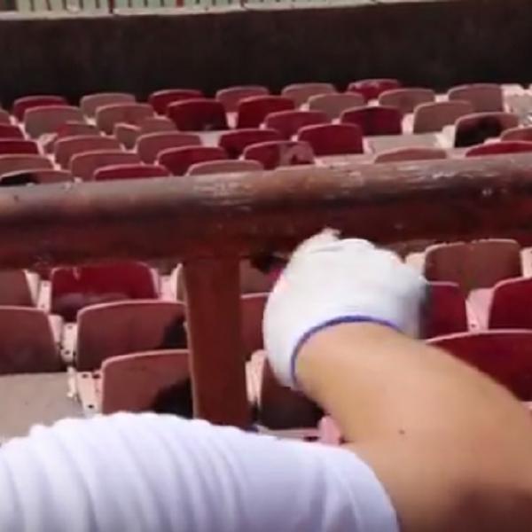 Više nego predivne scene na Marakani... Delije, svaka čast, tako se voli klub!  (VIDEO)