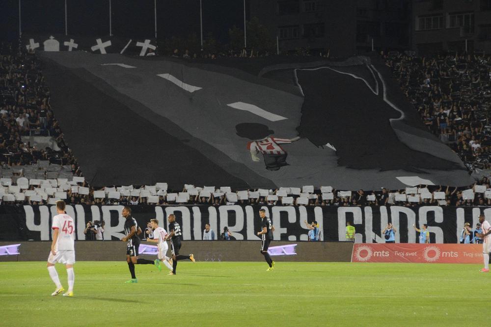 """""""Gate 7"""" upali na trening Partizana! Jednog igrača su posebno izvređali!"""