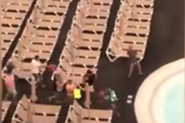 Šibanje zbog ležaljki! Britanski turisti po plaži divljali gore nego na stadionu! (VIDEO)