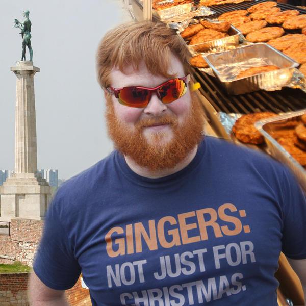 PALI STE MI U OČIMA ZBOG JEDNE PLJESKAVICE! Ispovest Škotlanđanina koga su preveslali u Beogradu! ODRALI SU MU KOŽU S LEĐA!
