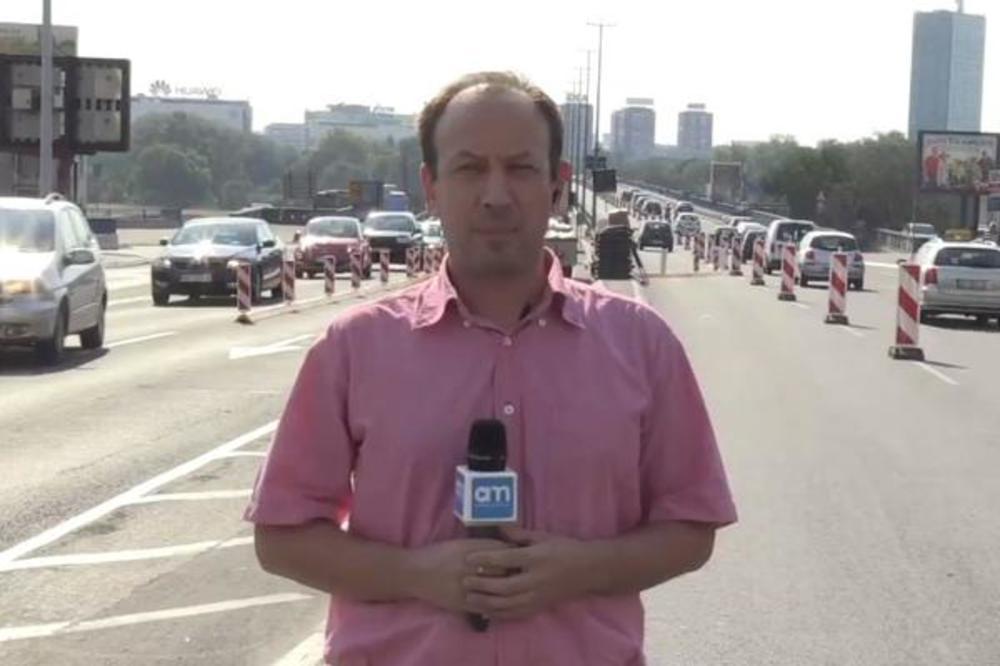 Brankov most zaobilazite u širokom luku: Zatvorene dve trake, haos već počeo, a biće još veće gužve! (VIDEO)