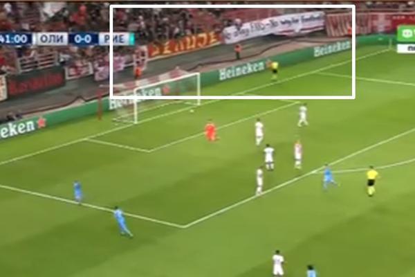 UEFA je od Delija i navijača Olimpijakosa dobila poruku na meču sa Rijekom! (FOTO) (VIDEO)