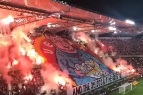 GROBARI I DELIJE LAJK DIS: Niko nikada nije isprozivao UEFA kao navijači Legije! (VIDEO)