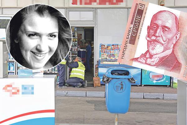UBICU S PUMPE ODAO JEDAN TRAG: Miloš je optužen da je ubio Kristinu (20), pao zbog hiljadarke! (FOTO)