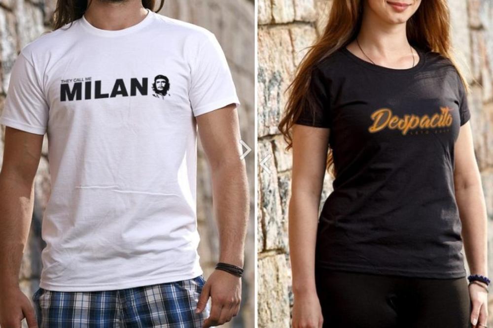 OSTAVIĆETE UTISAK GDE GOD DA SE POJAVITE: Majice za koje će vas svi pitati!