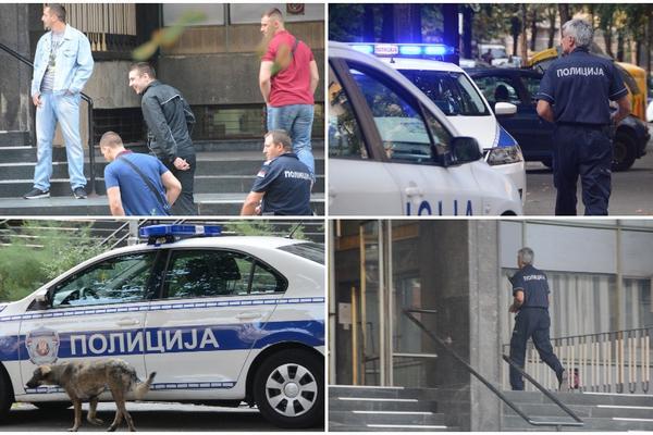 FILMSKA AKCIJA U CENTRU BEOGRADA: Policija upala na fakultet, jurili mladića u crnom! (VIDEO)