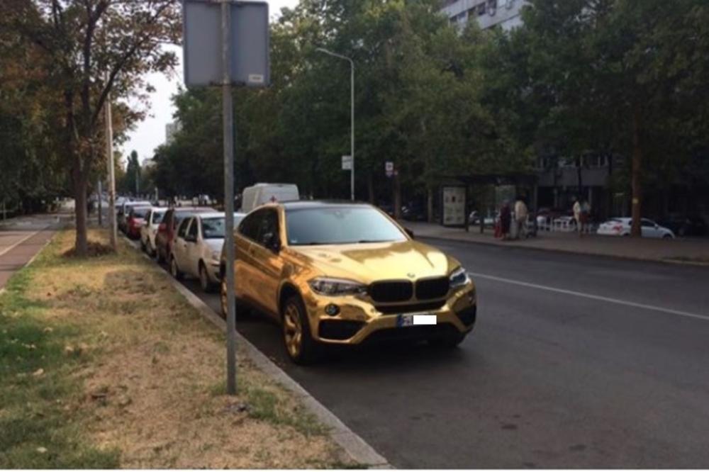 Ciji Je Zlatni Bmw Na Novom Beogradu Misteriozni Automobil Izazvao