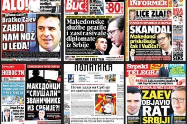 OVO JE ODGOVOR MRZITELJIMA I ZA MNOGE, SLIKA DANA: Naslovnica najtiražnijih makedonskih novina izazvala euforiju u Srbiji!