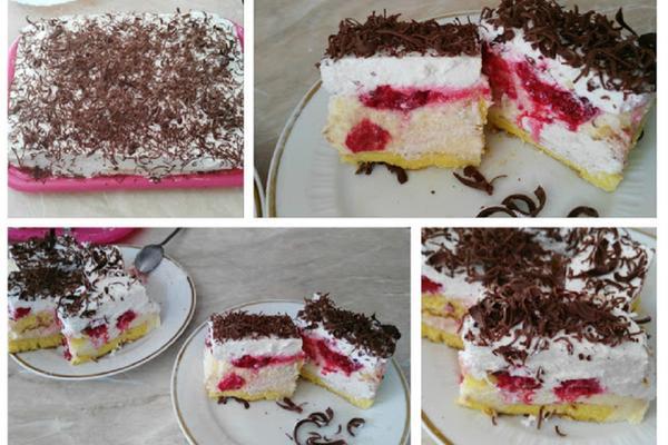 Meka je i pufnasta kao jastuk! Torta sa malinama je neodoljivog ukusa! (RECEPT) (VIDEO)