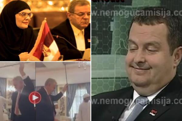 Toma igra kod šeika, Dačić peva Erdoganu na turskom, Maja Gojković u hidžabu: Svi blamovi srpskih političara koji su prelazili granicu dobrog ukusa! (FOTO) (VIDEO)