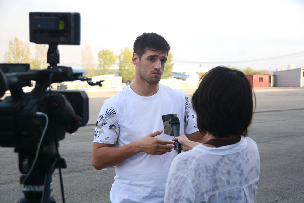 Nenad Pagonis kada je davao intervju za Espreso.rs