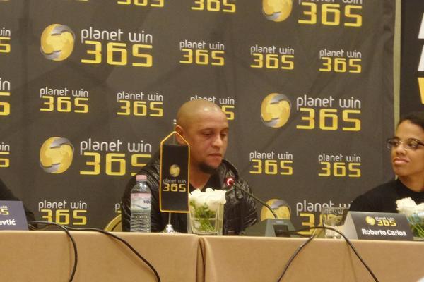 VODITE ME NA VEČITI DERBI! Roberto Karlos: Miha je moj profesor, Zvezda i Partizan su kao Real i Barsa! (FOTO)